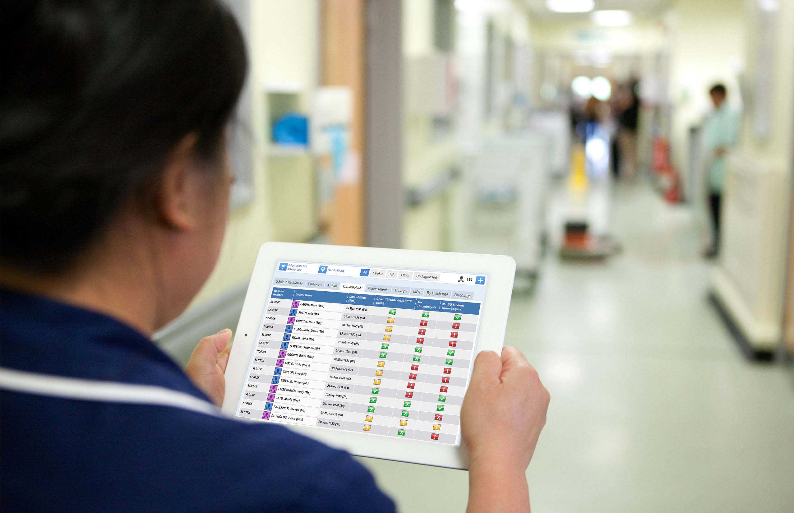 Stroke Patient Data Capture